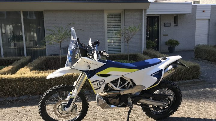 My Husqvarna 701 Adventure